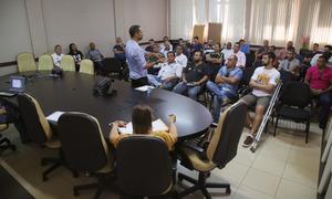No começo do mês, a superintendência debateu ações esportivas com presidentes de Federações Esportivas do Tocantins