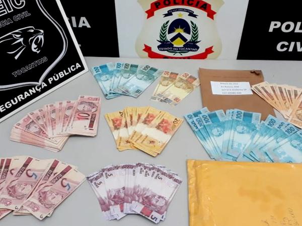Polícia Civil apreende quase R$ 10 mil reais em cédulas falsas em Palmas