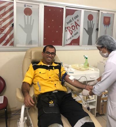 Doação de sangue fiscal