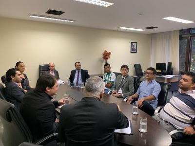 Reunião ATI e PGE