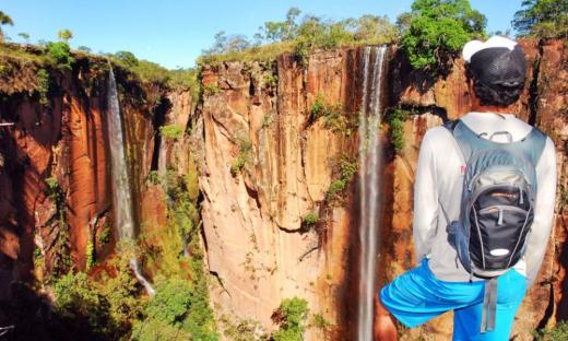 Canion Encantado fica localizado no município de Almas no Tocantins