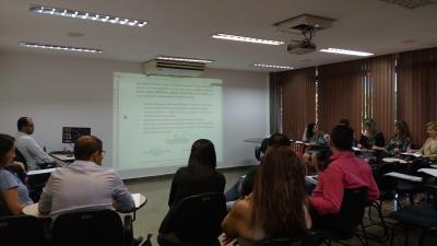 Procedimento administrativo disciplinar foi o tema do treinamento