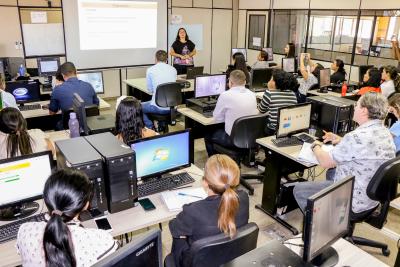 A capacitação é direcionada para cerca de 30 técnicos da secretaria