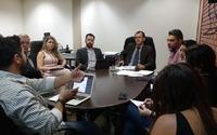 Gestores da ATI e CGE abordam em reunião melhorias para a administração pública