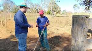 Técnicos do Ruraltins percorrem propriedades rurais no dia D de Combate a Queimadas