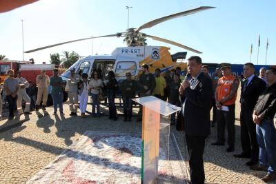 Secretário do Meio Ambiente e Recursos Hídricos, Renato Jayme, reforçou a importância da união de esforços no trabalho