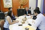 Reunião ocorreu no gabinete da presidência da Adetuc