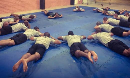 Treinamento na Escola Superior de Polícia do I Curso de Operações Táticas do Tocantins