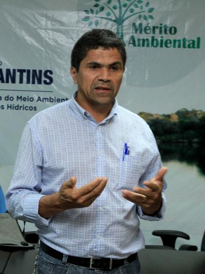 O diretor executivo Bernardino Rodrigues de Souza relata a experiência do Consórcio Intermunicipal de Desenvolvimento Sustentável Vale do Rio Palma (CIDS)no incentivo à Criação da Associação dos Catadores e Catadoras de Materiais Recicláveis