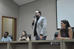 Na abertura do evento, o diretor do Plansaúde destaca a importância das reuniões com prestadores de serviço do Plano.