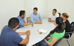 Equipe técnica da Seagro e consultores discutem estudos para pavimentação da Agrotins