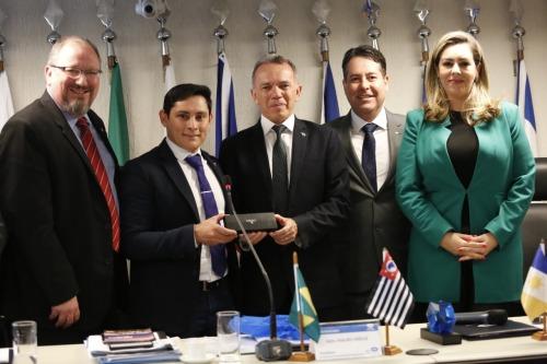 secretário apresenta potencialidades do Tocantins no CFA, em Brasília