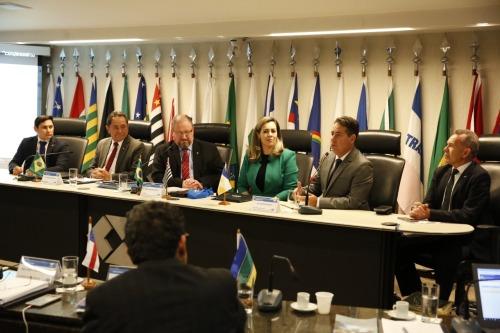 A apresentação foi realizada durante sessão do Conselho e teve participação da prefeita da capital, do presidente do TCE e Conselheiros tocantinenses