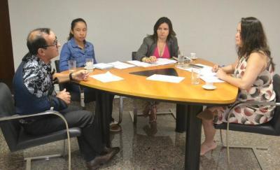 Reunião envolveu gestores da Seciju e da Defensoria Pública do Estado