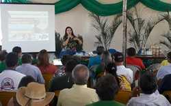Participantes aprendem em palestra a importância da regularização das agroindústrias