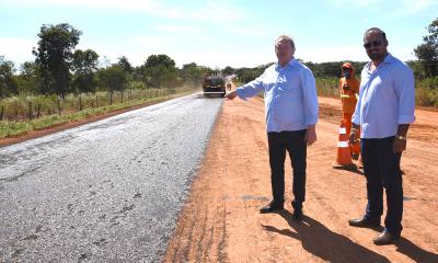 A recuperação desse percurso de 35 quilômetros está recebendo um investimento de aproximadamente R$ 18 milhões de financiamento do Banco Mundial