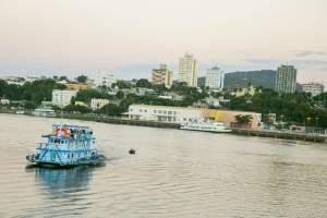 O Simpósio da Pesca aconteceu em Corumbá, Mato Grosso do Sul,
