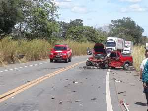 Acidente aconteceu na BR-153, próximo ao trevo de Bandeirantes do Tocantins