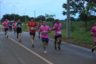 Atletas durante a prova da Meia Maratona do Tocantins