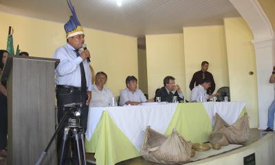 """Vereador Ivan Xerente: """"Nós sabemos como resolver, não podemos atropelar nossa cultura, nossos direitos"""""""