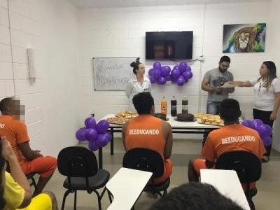 Reeducandos receberam certificação pela finalização do curso de panificação