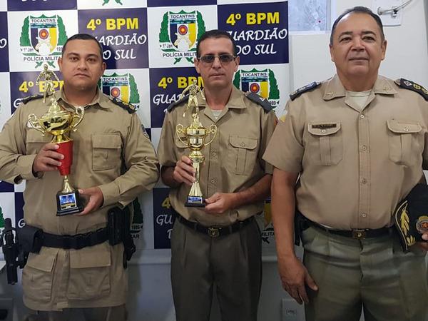 O comando do 4º BPM parabenizou todos os times da unidade pelo brilhante desempenho