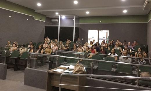 Em Guaraí parte do encontro foi realizado na Câmara Municipal
