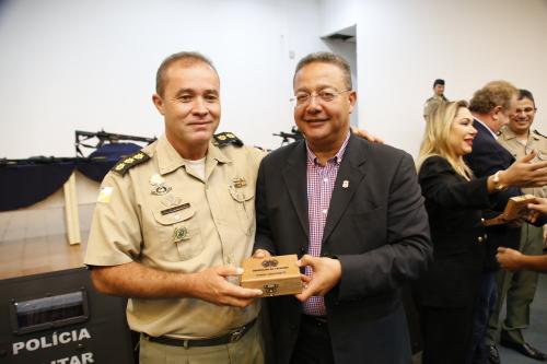 Homenageados prestaram importante contribuição a segurança regional