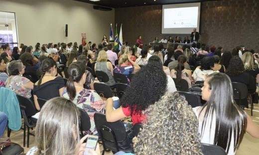 Gestores e técnicos de todas as regiões de saúde do Estado do Tocantins estão participando do encontro