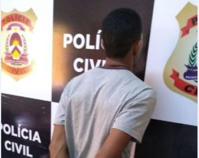 Suspeito de agredir a companheira em Pedro Afonso é preso pela Polícia Civil