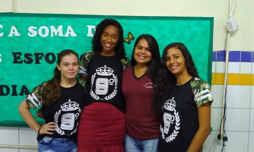 Equipe 'Mauá' da Escola Estadual Professora Hamedy Cury Queiroz