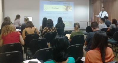 Participaram do curso servidores de diversas pastas