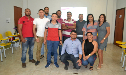 Chefes de unidades socioeducativas no 2º módulo do curso de Formação de Gestores em Socioeducação