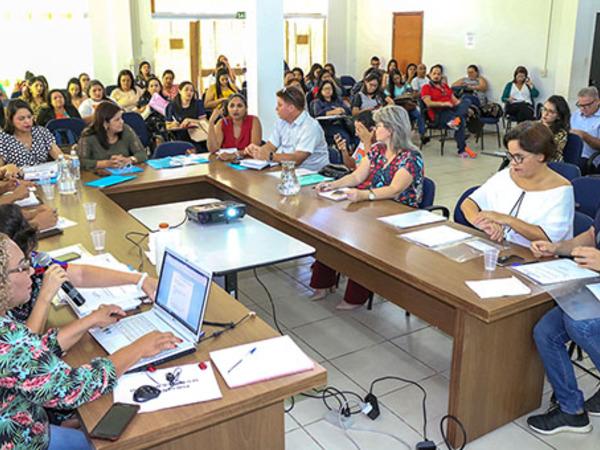 O encontro ocorre sempre no auditório do Conselho Estadual de Assistência Social (Ceas/TO), em Palmas