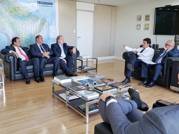 Reunião aconteceu nesta terça-feira, em Brasília