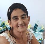 Dona Dercilia Margarida de Jesus, aposentada, 76 anos, moradora da Vila Cruzaltina a mais de 10 anos