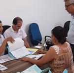 Atendimento Realizado pela equipe técnica da Terratins com as famílias da Vila Cruzaltina