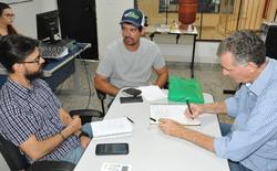 Equipe técnica da Seagro em reunião sobre aquicultura