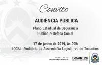 Secretaria da Segurança convida população e interessados para Audiência Pública sobre Plano Estadual de Segurança Pública e Defesa Social