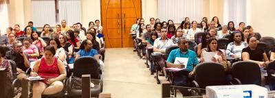 Formação em Dianópolis reuniu representantes das redes municipal, estadual e particular