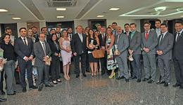 Governador do Estado do Tocantins, Mauro Carlesse, recebeu em seu gabinete integrantes do Colégio Nacional de Defensores Públicos Gerais
