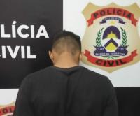 Suspeito de cometer vários furtos em Pedro Afonso é preso pela Polícia Civil