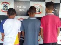 Polícia Civil apreende três adolescentes suspeitos de ato infracional análogo a roubo em Colmeia