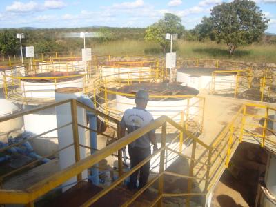 Estação de Tratamento de Água - Sistema de Filtragem