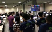 Visita dos alunos do IFPA as áreas de atuação da Agência de Tecnologia