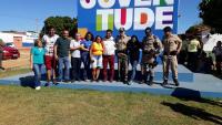 Equipe da Polícia Comunitária prestigia inauguração de praça e Conseg em Porto Nacional