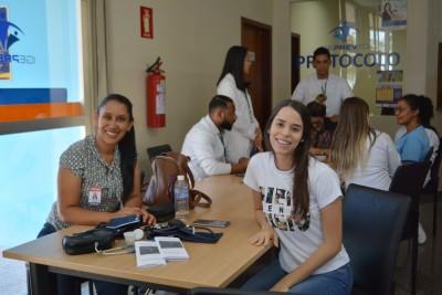 Estudantes do curso de enfermagem do Ceulp/Ulbra.