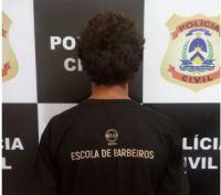 Homem suspeito de praticar vários crimes é preso pela Polícia Civil em Xambioá