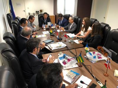 Nivair Borges na reunião do Colégio Nacional de Procuradores-Gerais