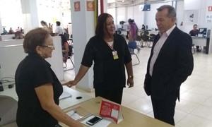 Secretário visita sede do  é pra já em Araguaína